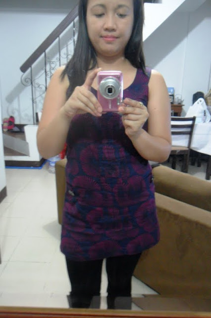 This used to fit me as a dress lang talaga but since I gained weight