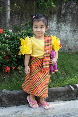 Anika's Linggo ng Wika Costume