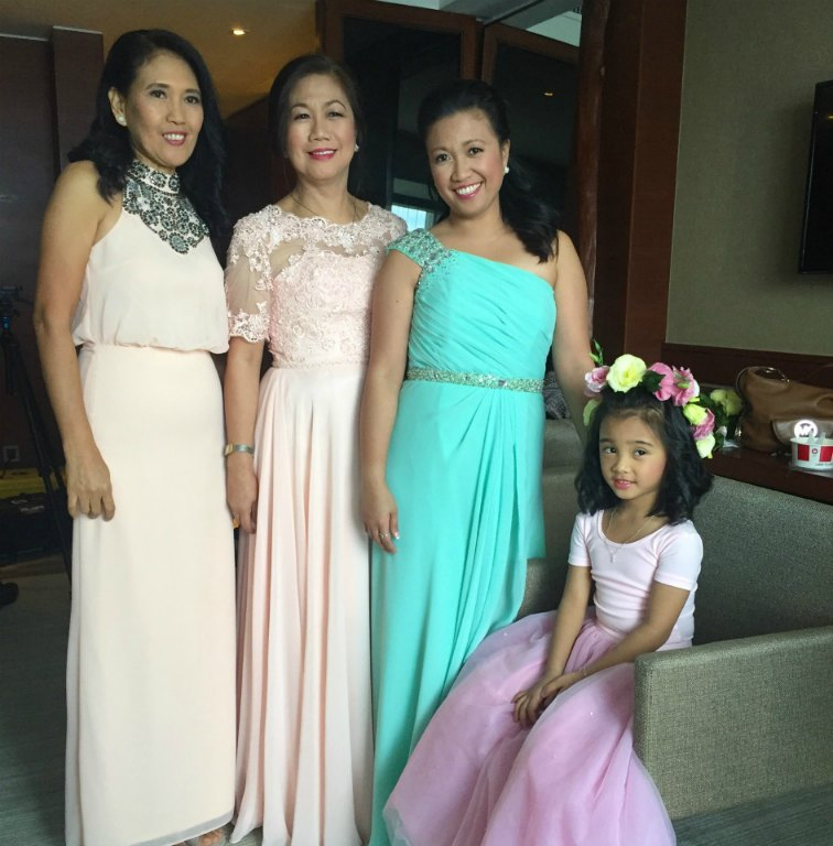 Wedding Dresses For Ninang Ninang Dress Gown Mel Fleur